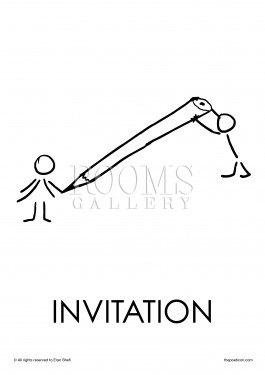 תמונה למשרד הזמנה בקווים גרפיים