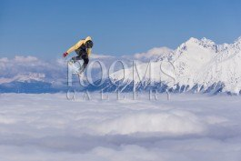 איש השלג תמונה לחדר נוער מדליק