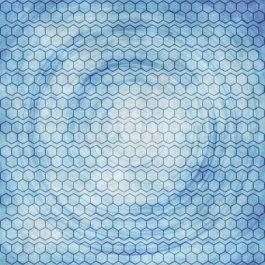 תמונות אבסטרקט לסלון כחול