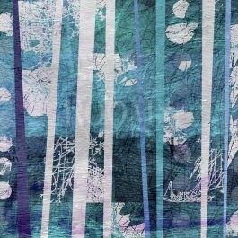 טבע וכחול תמונה לסלון