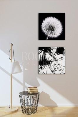 Minimal interior scene with composition