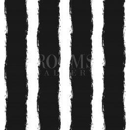 ציור גאומטרי בשחור לבן למשרד