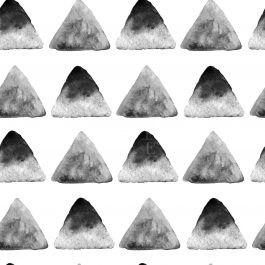 תמונות למכירה בגווני שחור לבן משולשים