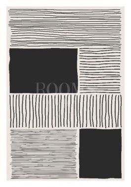 תמונות לבית עם קווים שחורים