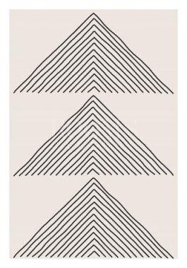 תמונות עם צורות גיאומטריות בשחור לבן